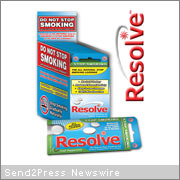 Resolve smoking cessation lozenge