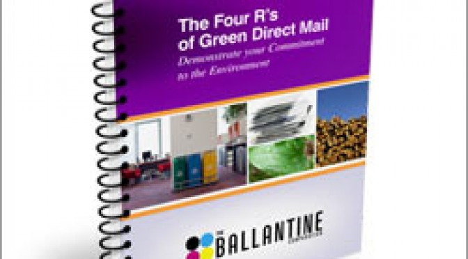Four R's of Green Direct Mail