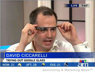 Google Glass Explorer David Ciccarelli interviewed on Canada AM