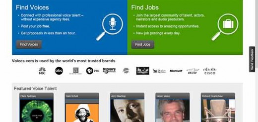 Voiceover Talent Marketplace