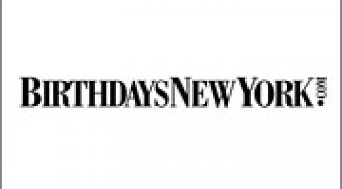 BirthdaysNewYork