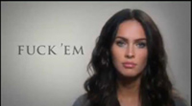 Megan Fox Peer Pressure