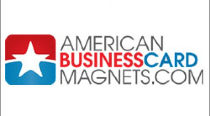 American Business Card Magnets 2011