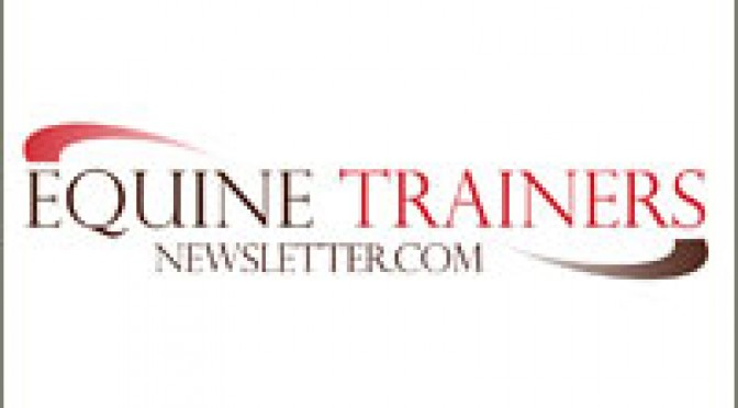 Equine Trainers Newsletter