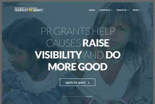 2017 NonProfit PR Grant
