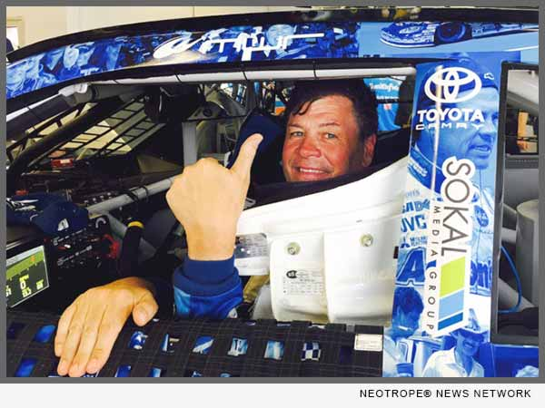 Sokal Media Group Rides with Michael Waltrip