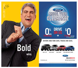 (c) FORD - Taylor Hicks USA Today Ad