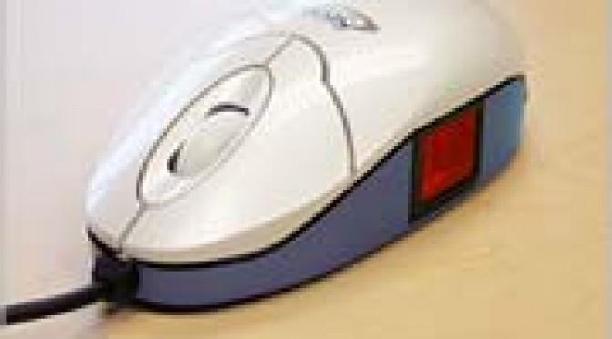 SecuGen biometric mouse